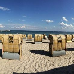 Strandtag ohne Gedränge!