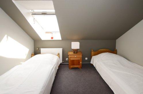 Schlafzimmer I mit zwei Einzelbetten